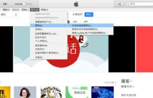 在 iTunes 中对Mac或Windows电脑授权