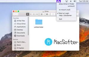 Mounty for NTFS : Mac读写ntfs工具
