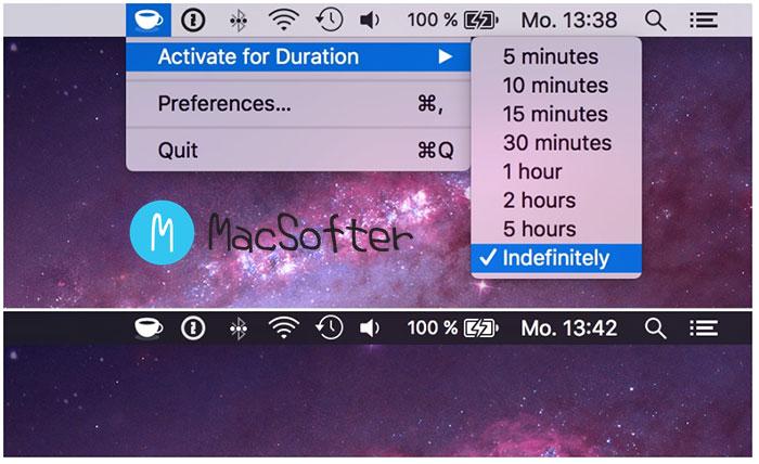 Mac不休眠设置工具 :KeepingYouAwake