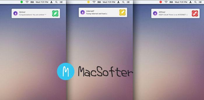 Online for Mac : Mac 网络中断通知工具