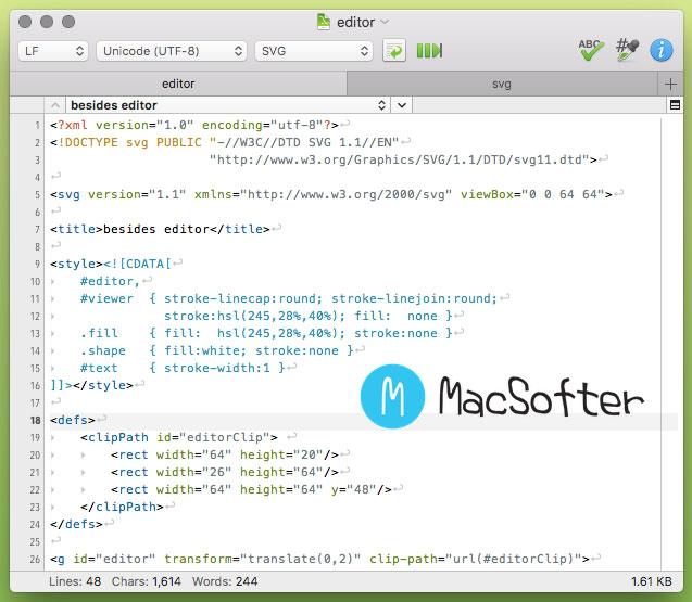 Mac 代码编辑器 : CotEditor
