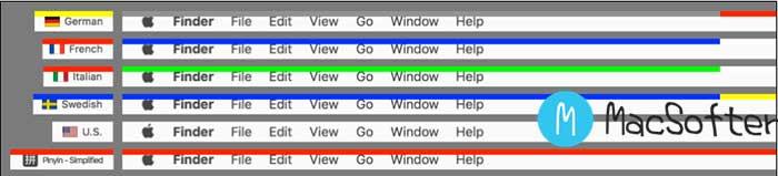 macOS状态栏根据当前输入法状态显示不同颜色 : ShowyEdge