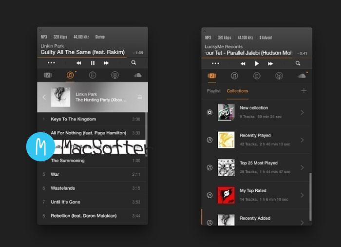 Mac 好用的无损音乐播放器 : VOX