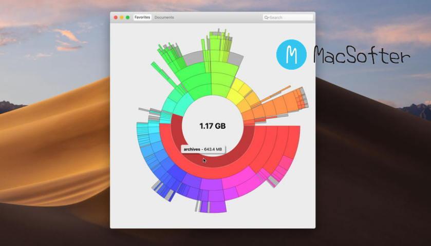 [Mac] Disk Graph : 可视化硬盘占用分析工具