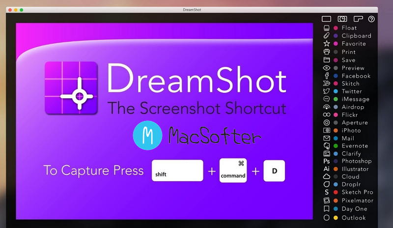 [Mac] DreamShot :强大的截图软件