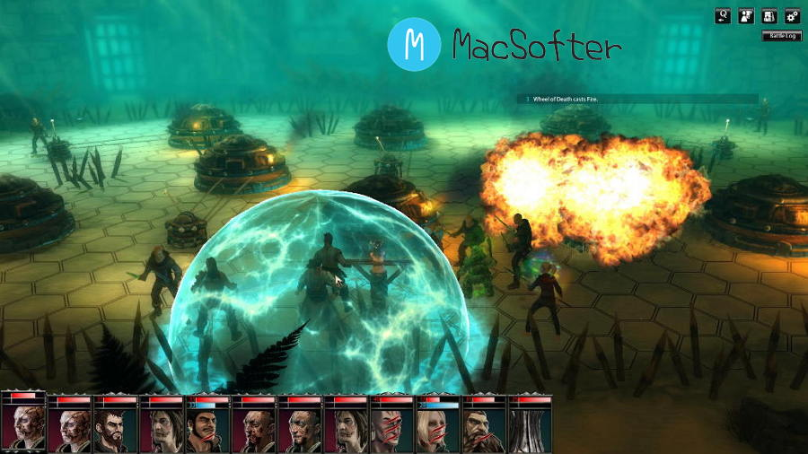 [Mac] 黑色守卫(Blackguards)  : 策略RPG游戏