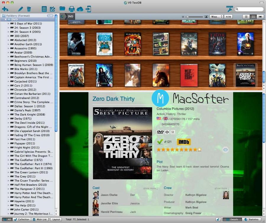 [Mac] Movie Collector Pro : 电影数据信息管理工具