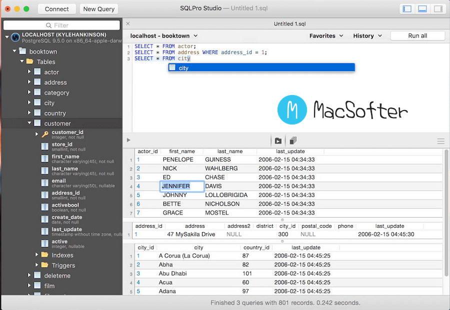 [Mac] SQLPro Studio : 好用的可视化数据库管理工具
