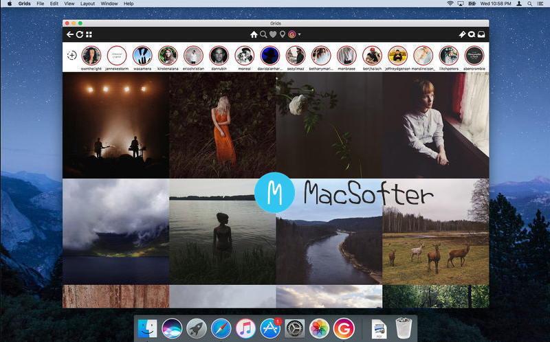 [Mac] Grids for Instagram : 好用的Instagram桌面客户端