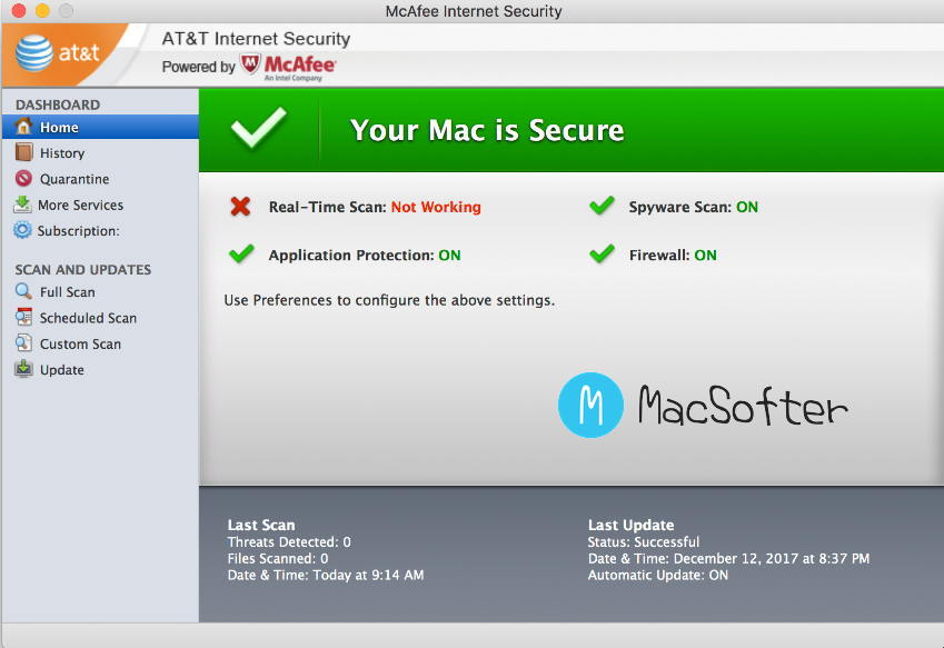 [Mac] McAfee Endpoint Security : 好用的安全杀毒防毒软件