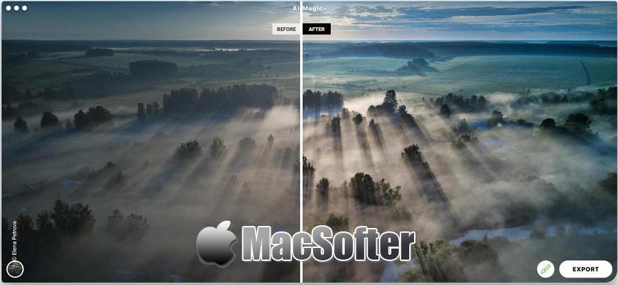 [Mac] AirMagic :AI智能化无人机航拍照片优化软件