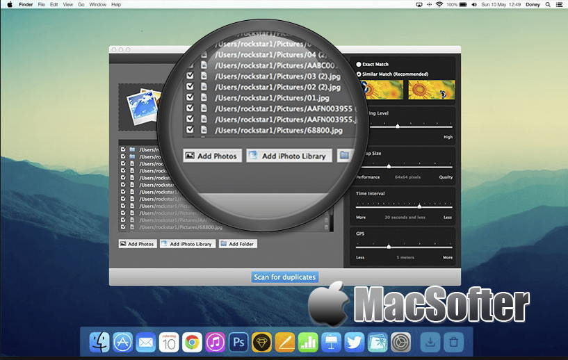[Mac] Duplicate Photos Fixer Pro : 重复照片检测清理软件