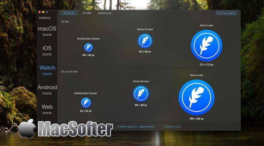 [Mac] IconFly :全套尺寸icon图标制作工具