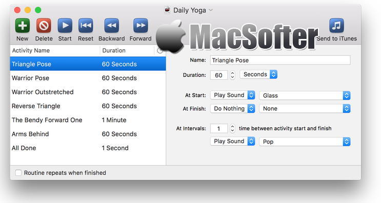 [Mac] FlexTime : 适合重复计时的计时器