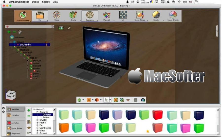 [Mac] SimLab Composer :用于3D设计和逼真场景的设计软件