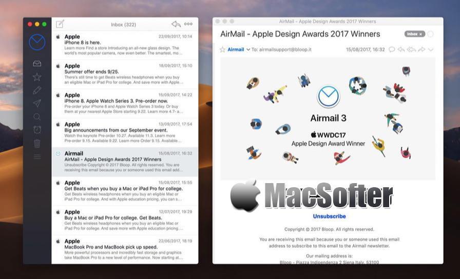 [Mac] Airmail : 轻量简约好用的邮件客户端