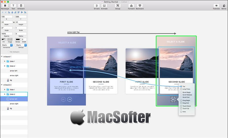 [Mac] Principle :专业高效的交互动效设计工具