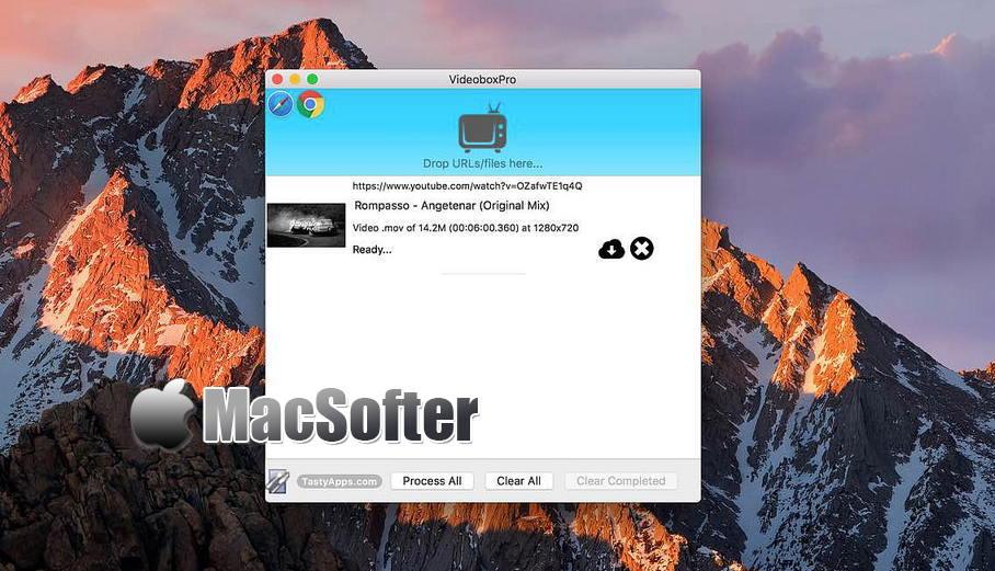 [Mac] VideoboxPro :在线网页网络视频下载工具