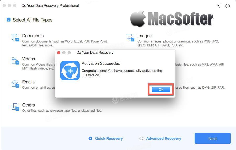 [Mac] Do Your Data Recovery Pro:专业的数据恢复软件