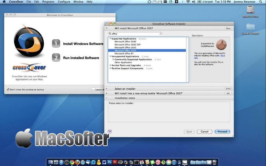 [Mac] CrossOver :让Mac电脑运行Windows软件