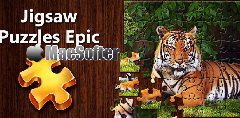 [Mac] Jigsaw Puzzles Epic : 耐玩的拼图游戏