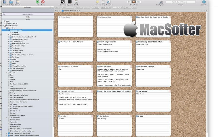 [Mac] WriteItNow : 小说写作软件