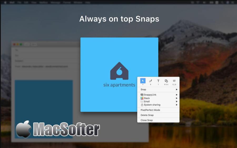 [Mac] Snappy : 具备图片编辑功能的屏幕截图软件