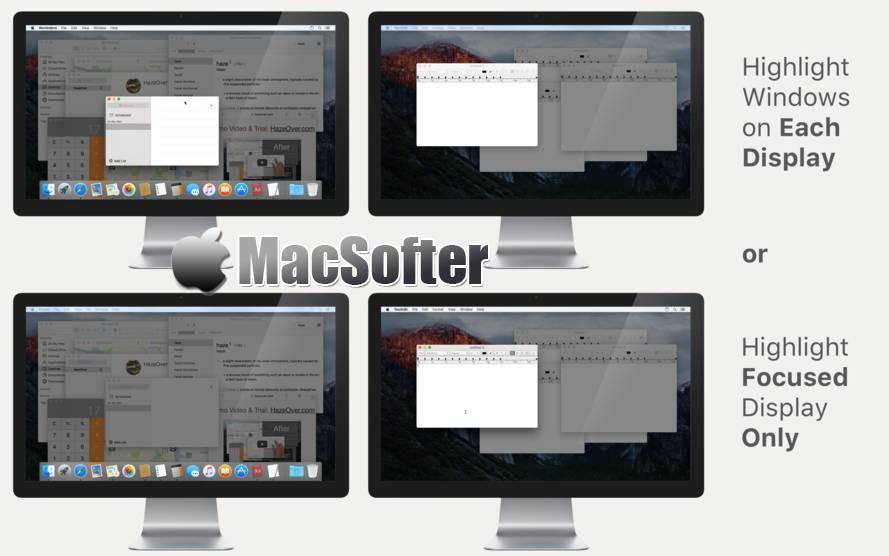 [Mac] HazeOver :集中注意力的效率软件