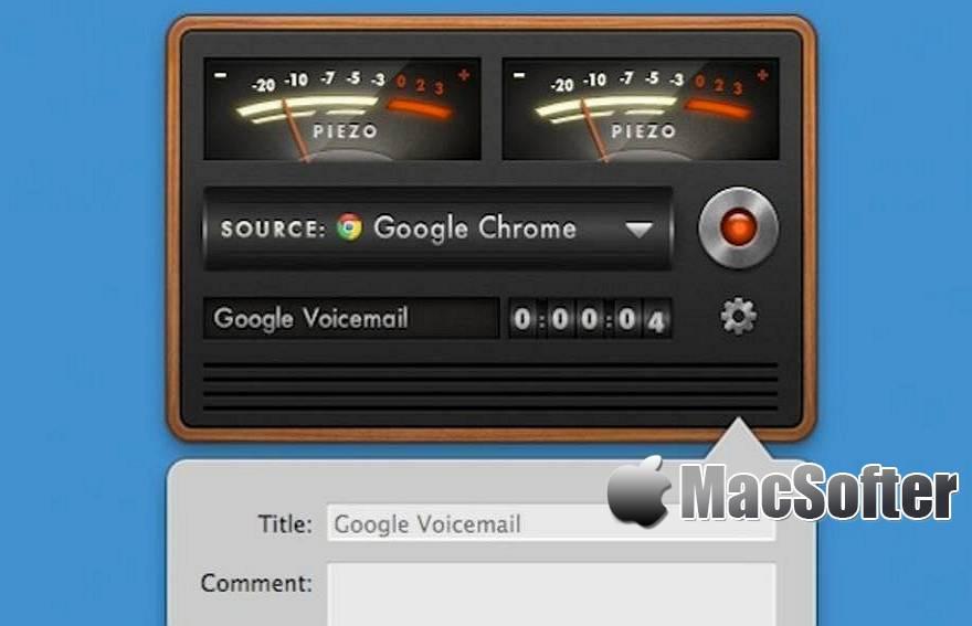 [Mac] Piezo :支持从任何应用程序快速录制音频的录音软件 Mac辅助工具 第1张