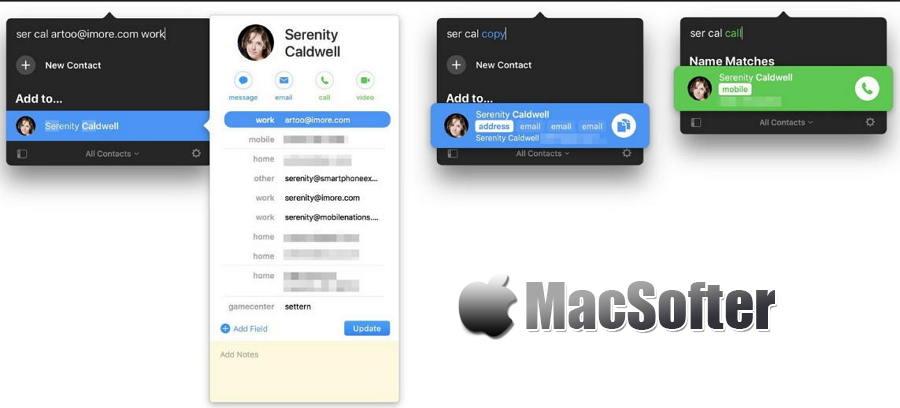 [Mac] Cardhop : 方便快捷的通讯录联系人管理工具