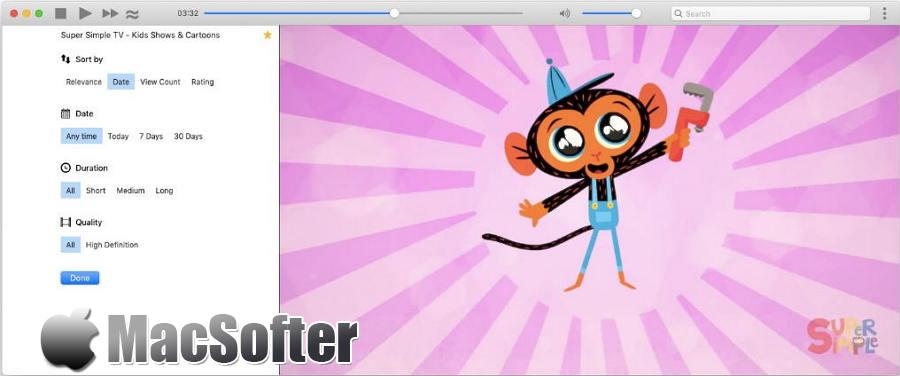 [Mac] Minitube : 轻量级的Youtube客户端