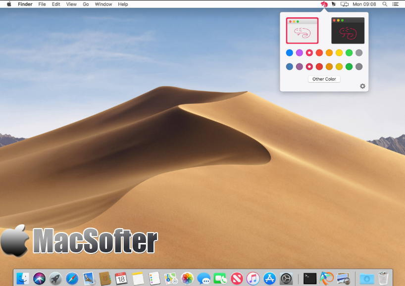 [Mac] Chameleon : 界面配色快速切换工具