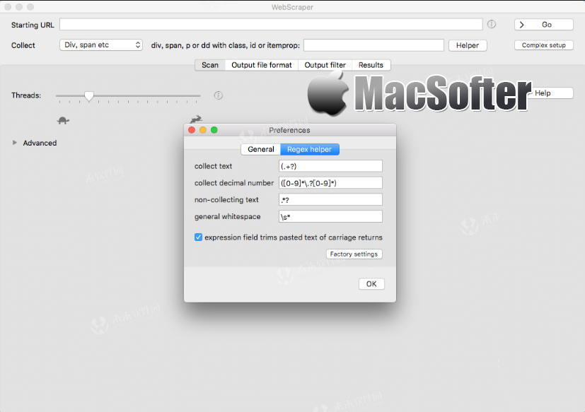[Mac] WebScraper : 网站数据抓取采集及存档工具