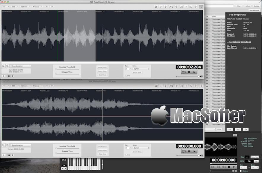 [Mac] AudioFinder : 专业的音乐音频管理及音乐音频处理工具
