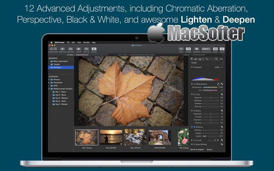 [Mac] RAW Power : 专业的RAW图像处理工具