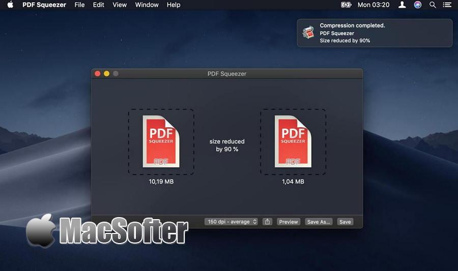 [Mac] PDF Squeezer(PDF 压缩器) : PDF文件大小压缩工具