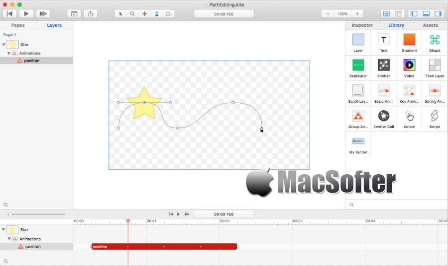 [Mac] Kite Composer :专业高效的动效及原型设计工具