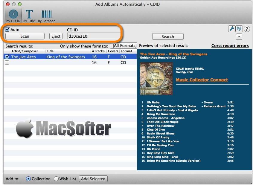 [Mac] Music Collector Pro :音乐管理工具