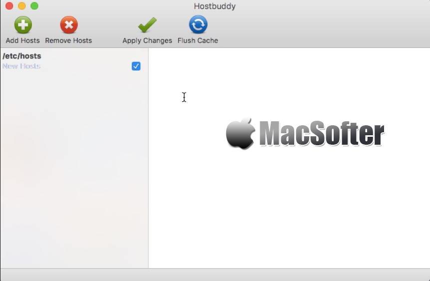 [Mac] Hostbuddy : hosts文件编辑管理工具
