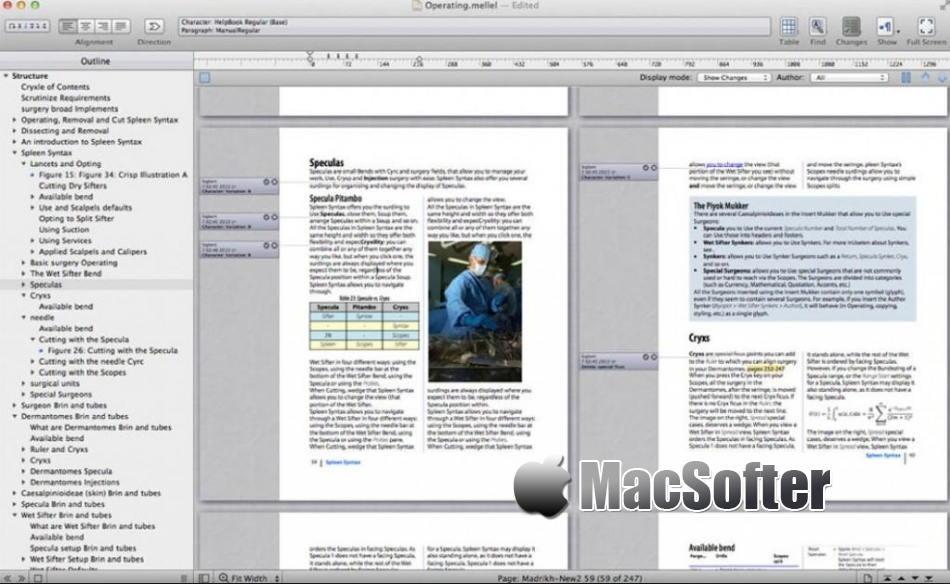 [Mac] Mellel :强大的文字编辑处理工具