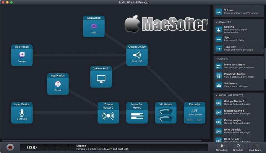 [Mac] Audio Hijack : 功能强大的录音软件