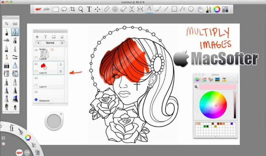 [Mac] SketchBook Pro : 手绘草图绘制软件
