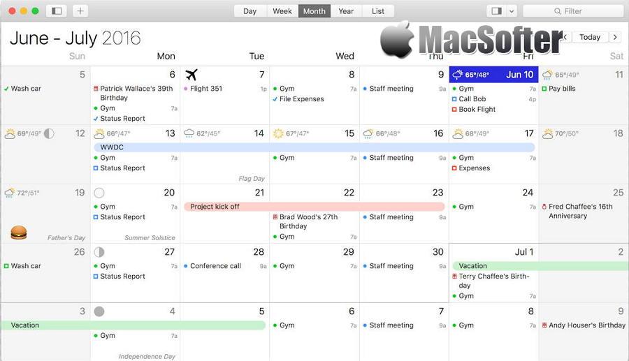 [Mac] BusyCal : 专业高效的任务管理日历工具