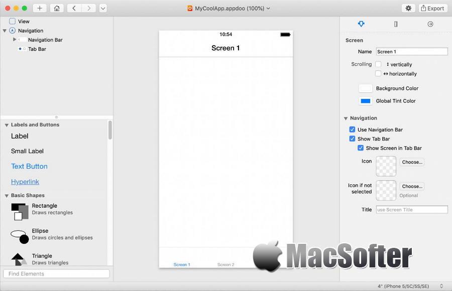 [Mac] Appdoo : 无需专业编程知识的傻瓜化iOS应用开发工具