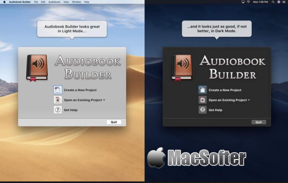 [Mac] Audiobook Builder :有声读物制作工具