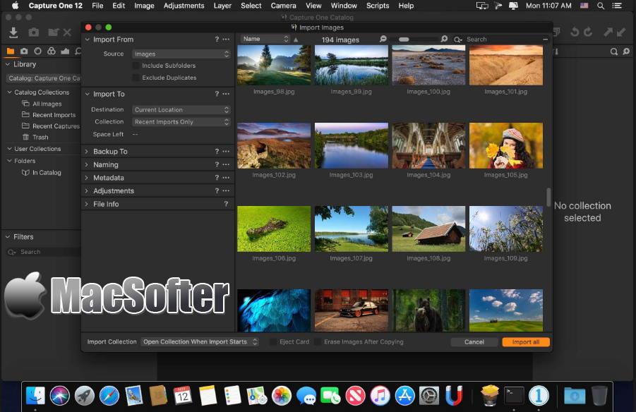 [Mac] Capture One Pro : RAW照片格式转换及图像编辑处理工具
