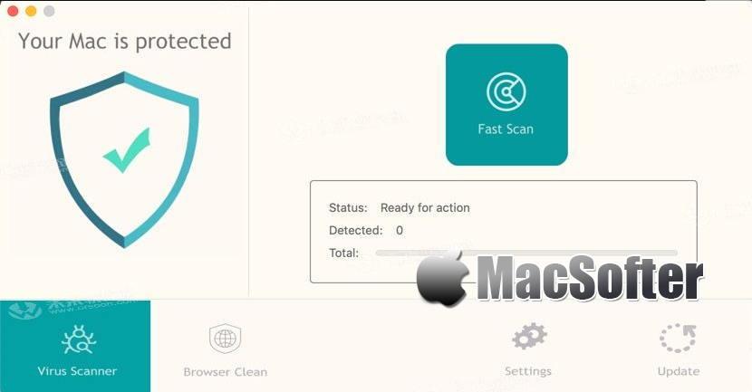 [Mac] Antivirus VK Pro : 恶意软件清除及杀毒软件