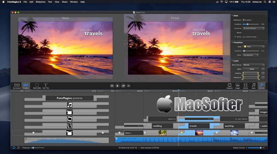 [Mac] Boinx FotoMagico : 幻灯秀视频制作工具