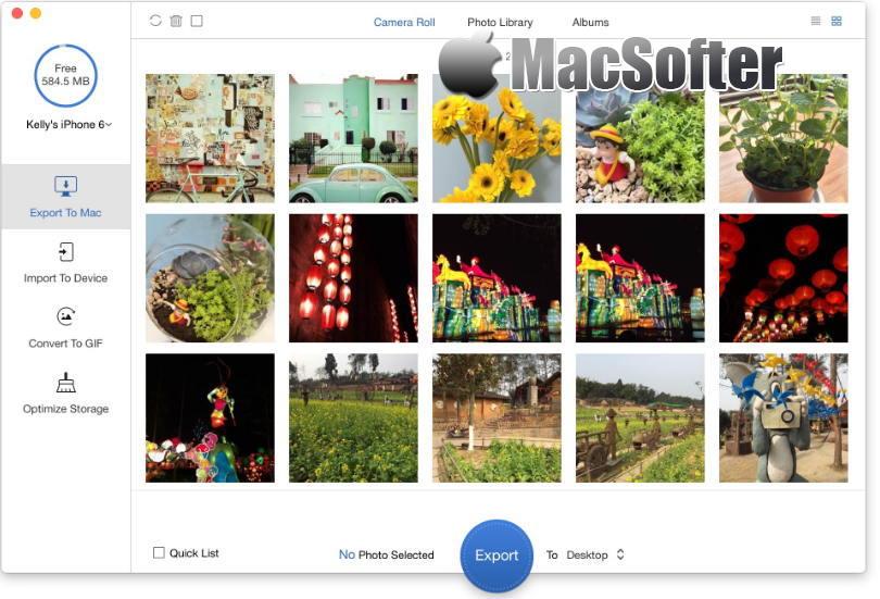 [Mac] PrimoPhoto Pro : 方便的iPhone照片视频管理工具