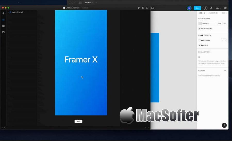 [Mac] Framer X :专业的交互设计原型工具